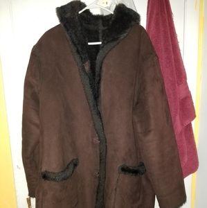 Ladies Winter Reviersable Coat
